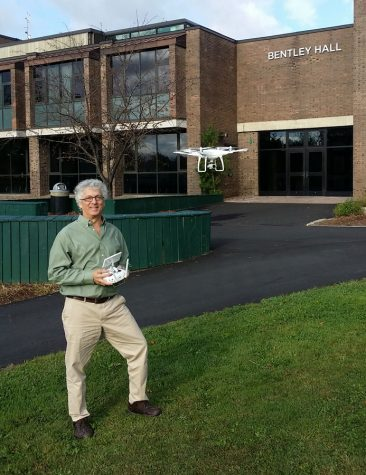 College's new drone will be able to map topography digitally