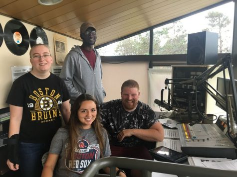 New radio show offers hands-on sports marketing experience