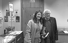 Sanders speaks at VSAC conference