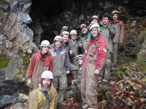 The crave to cave; JSC Outing Club traveling to West Virginia for April recess expedition
