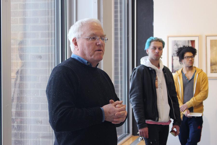 John Miller presenting