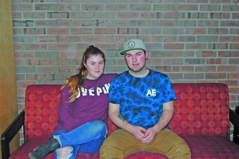 Deanna Trahan and Tyler Rushford