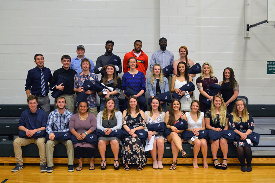 Senior student-athletes