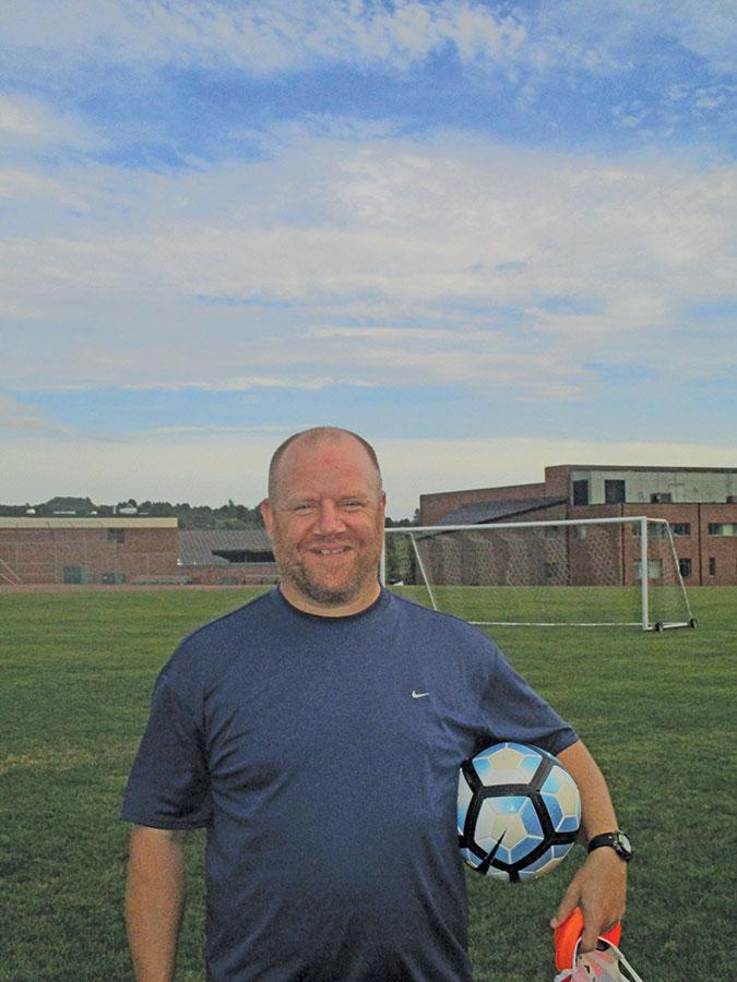 Head Coach Andrew Lafrenz