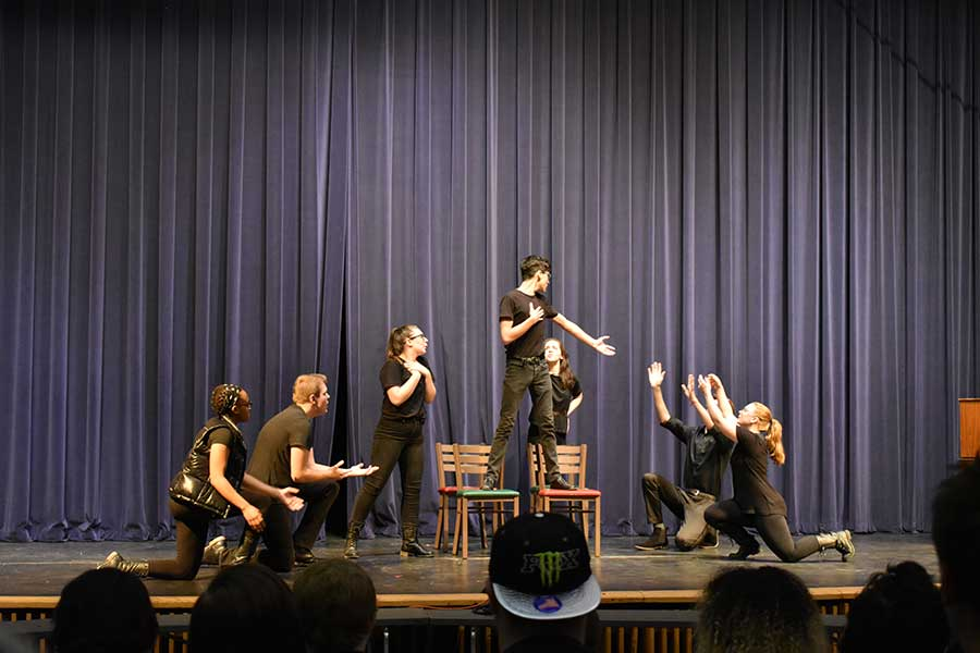 NVU's Acting 1 at the fest