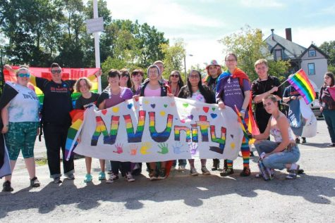 NVU marches in Gay Pride parade