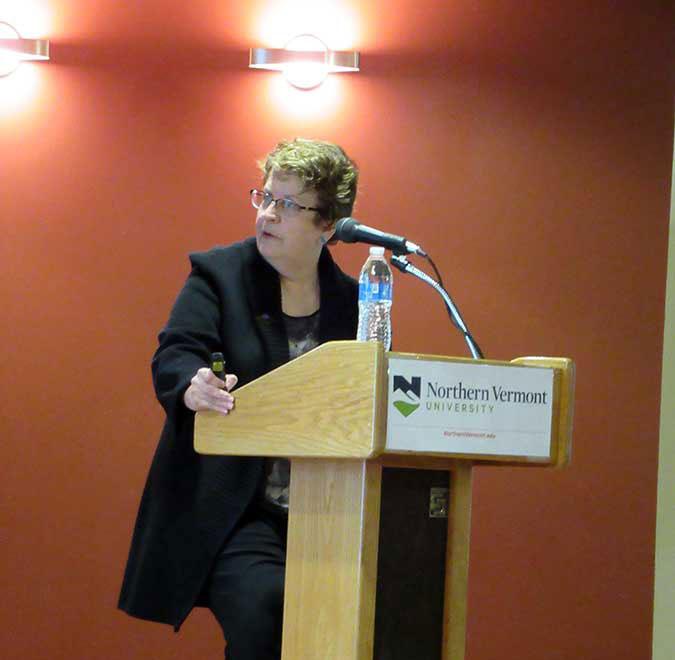 NVU President Elaine Collins