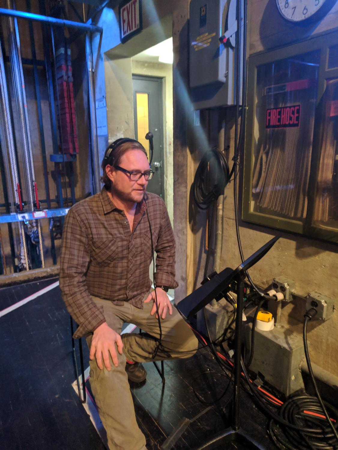 Tech Director Tim Mikovitz