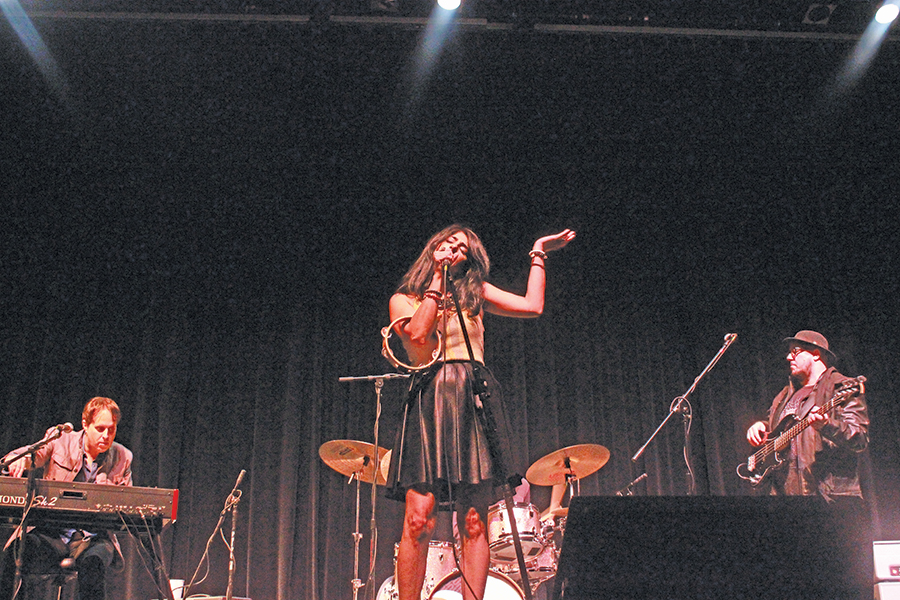 Ruby Velle and The Soulphonics perform at Dibden Center for the Arts
