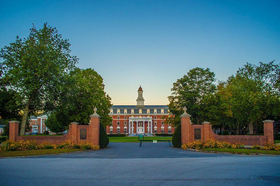 Green+Mountain+College%E2%80%99s+main+quad