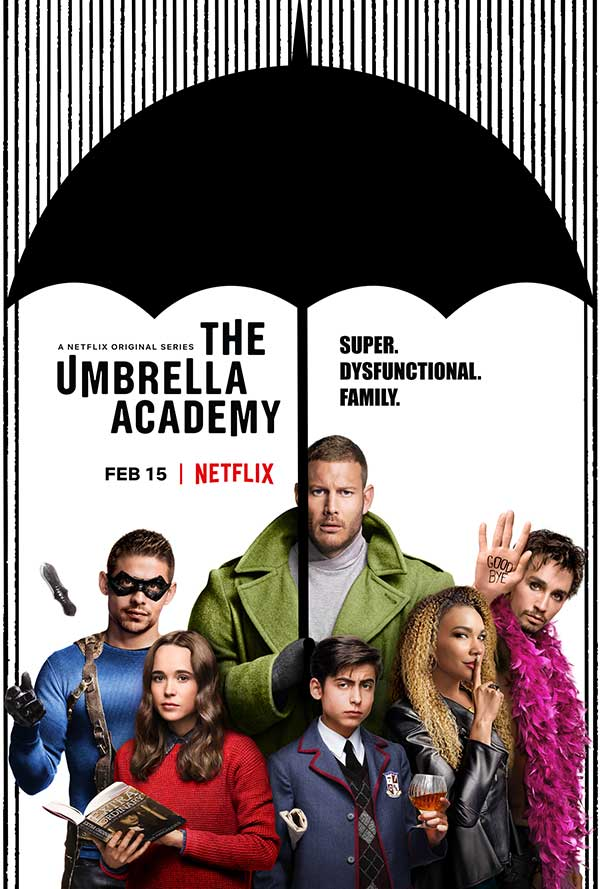 "Dysfunction works for ""Umbrella Academy"""