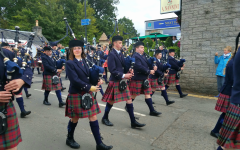 In the land of  bagpipes and haggis: an NVU student's introduction to Scotland