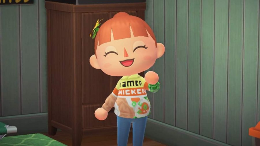 The game includes a clothing editor, which allows players to recreate their favorite clothing in-game.