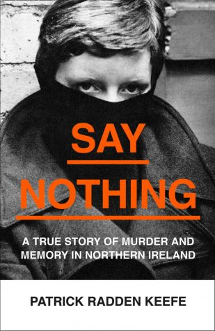 "The cover of ""Say Nothing"""