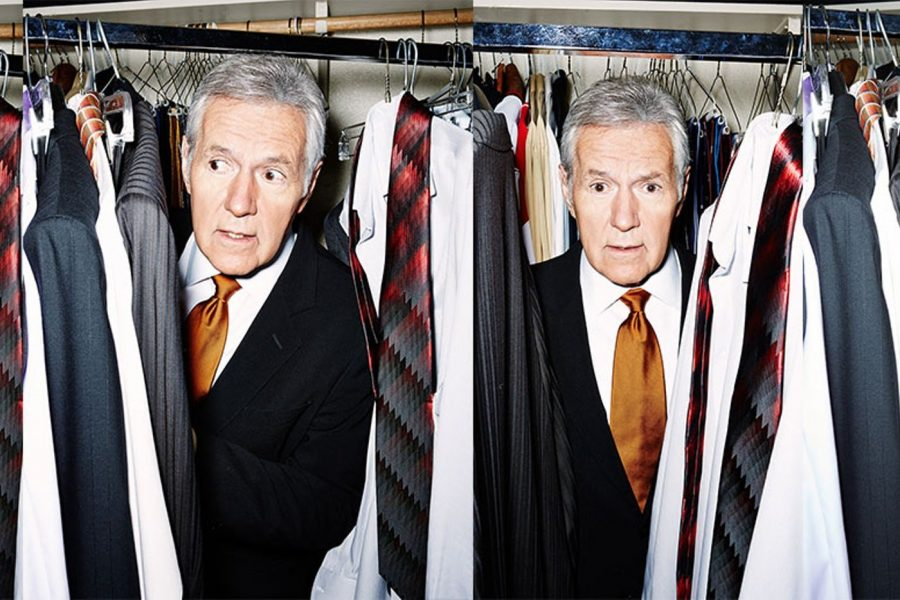 Legendary media host Alex Trebek.