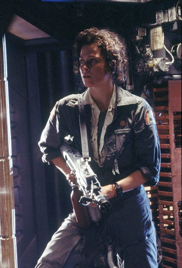 Sigourney Weaver as Ellen Ripley in the 1979 classic