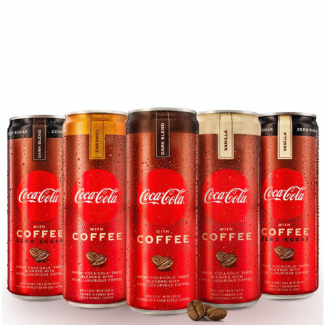Coke with coffee is a surprising success
