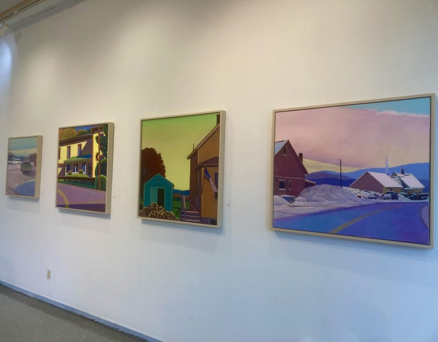 A few of Abbots works on display